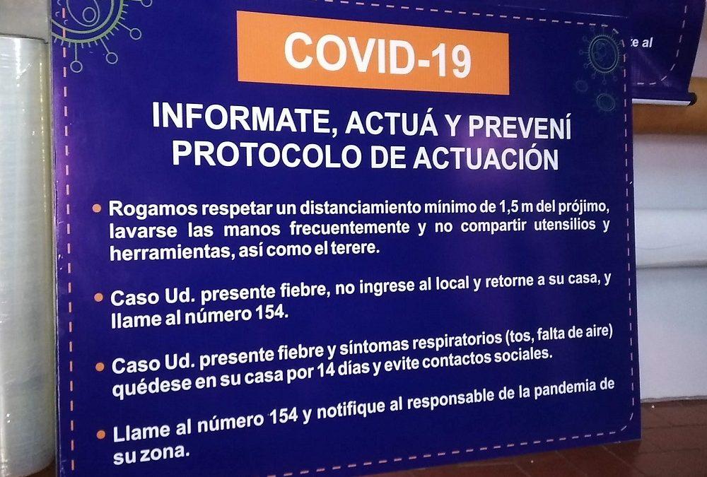 Señaleticas de Protocolo.
