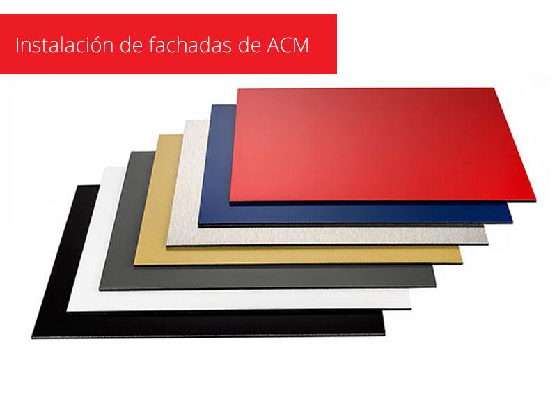 Panels ACM Instalación