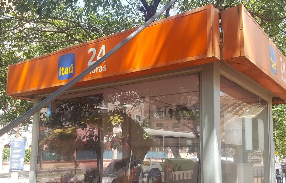 Carteleria para ATM Bancos Paraguay