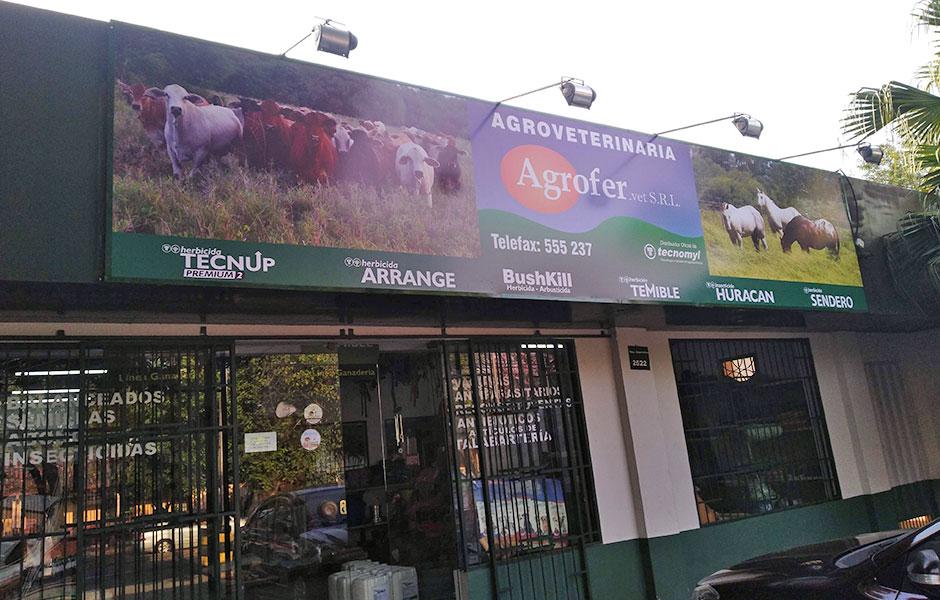 fabricación de carteles publicitarios en paraguay