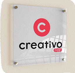 Placa Acrilico Creativo Publicitaria
